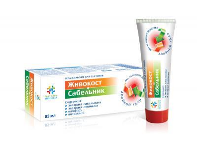 """""""Larkspur and Sabelnik"""" gel-balm for the joints"""