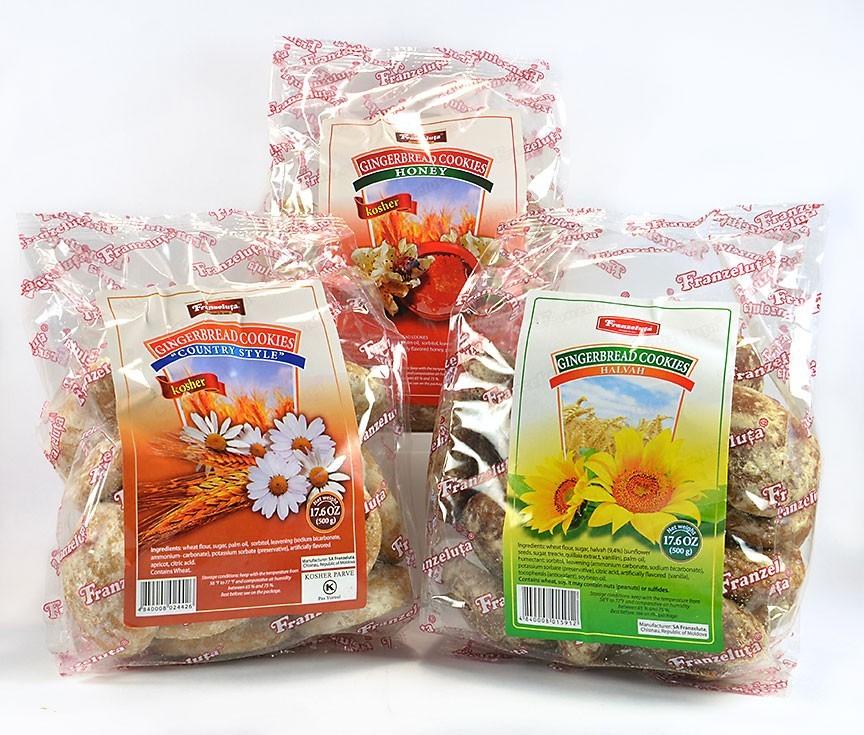 "Set of 3 Russian Original Gingerbread ""Franzeluta"" ***"