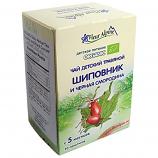 Organic Baby Tea Rosehip and Blackcurrant 30g/1.06oz 20 Bags Fleur Alpine
