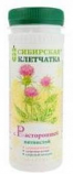 100% Organic Siberian fiber with Milk Thistle for a healthy liver, kidney and stomach, 170 gr