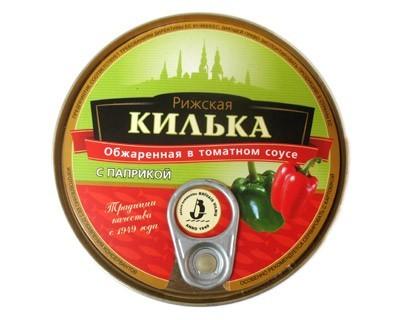Kilka in tomato sauСЃe with paprika ***