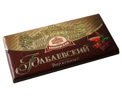 "Chocolate ""Babayevsky brand"""