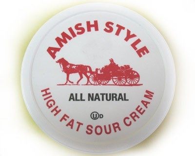 Amish Style Sour Cream. All Natural ***