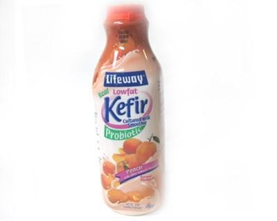 LowFat Peach Kefir