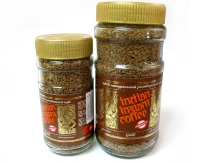 Indian Instant Coffee Gold 100% natural