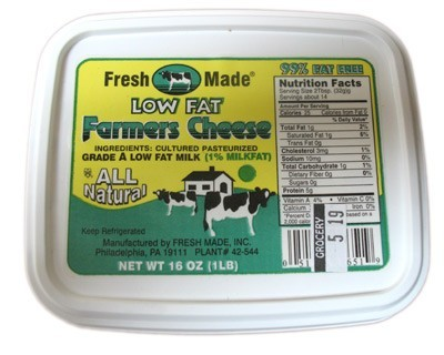 Low Fat Farmer cheese
