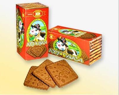 """Cookies """"Korovka"""" baked milk"""