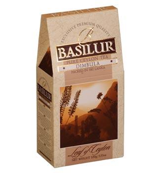 Basilur DIMBULA Black Pure Ceylon Leaf Tea 100g