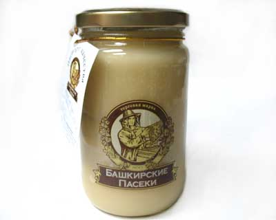 Bashkirstan organic honey