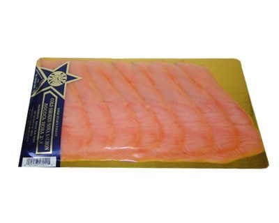 Wood smoked Nova Salmon 8 Oz