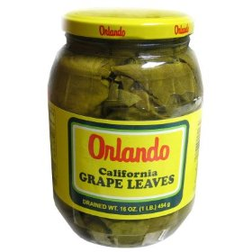 California grape leaves ***