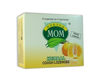 Herbal Cough Lozenges (Orange)