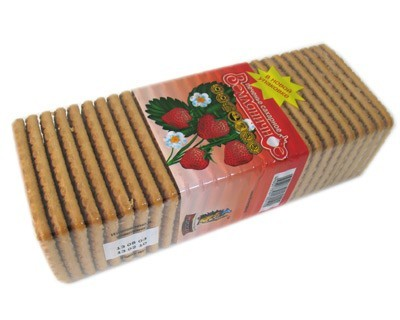 "Cookies ""Wild Strawberry""/ Zemlyanichnoe"
