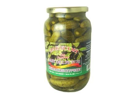 "Baby Dill Pickles ""Zakuson"""