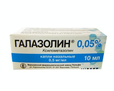 Galazolin Herbal Nose Drops 0.05%