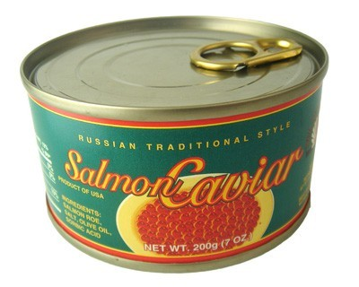 Salmon Caviar Russian Traditional