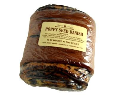 Poppy seed danish 6 Oz