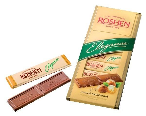 Chocolate Elegance with roast hazelnuts