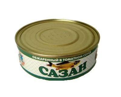 Carp in tomato sause ***