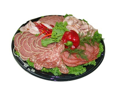 Meat plate ***