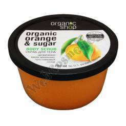 "Scrub ""Sicilian Orange"" 250 Ml Organic Orange Oil And Cane Sugar ***"
