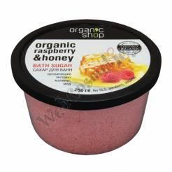 "Sugar Bath ""Raspberry Honey"" 250 Ml Organic Extract Of Raspberry And Honey"