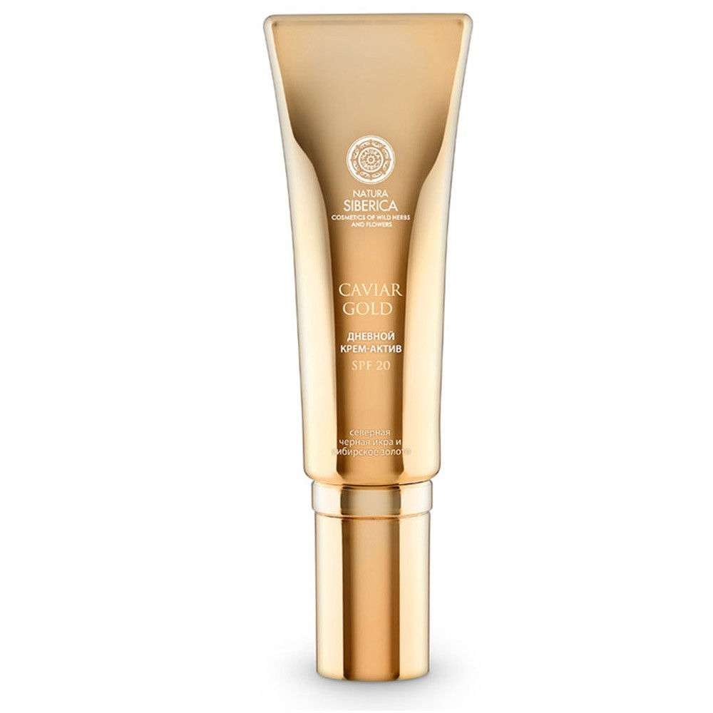 Caviar Gold Day Active Cream Youth Injection, 1 oz/ 30 ml (Natura Siberica)