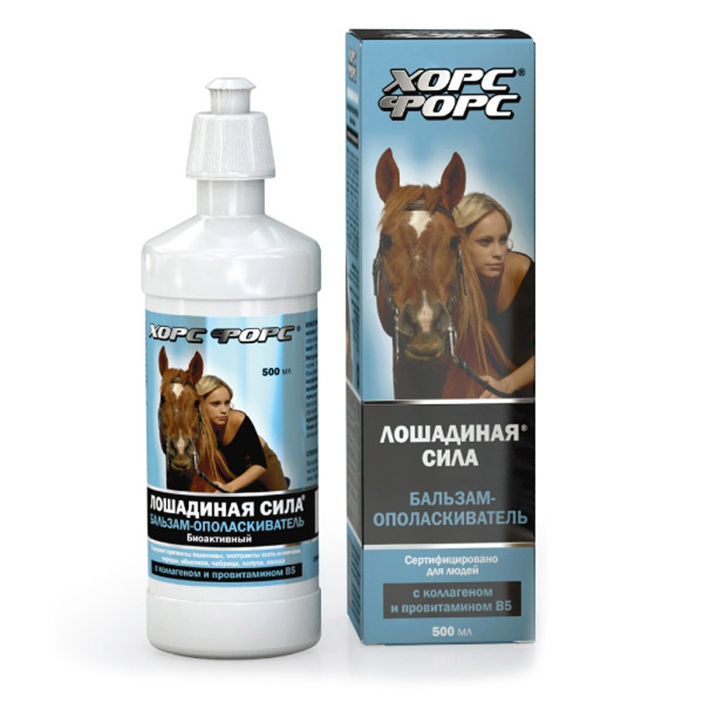 Bioactive Conditioner w/ Collagen & D-Panthenol, 16.9 oz/ 500 ml (Horse Force)