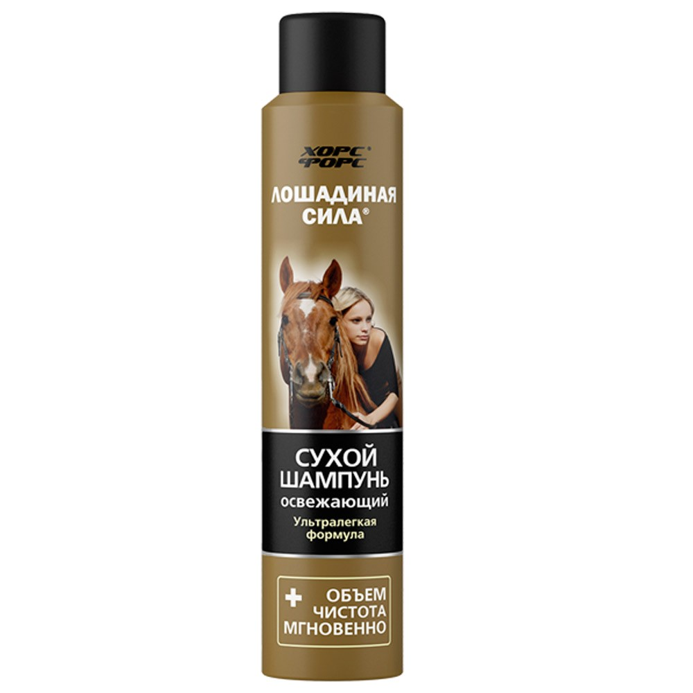 Dry Shampoo Refreshing Volume & Purity, 6.76 oz/ 200 ml (Horse Force)