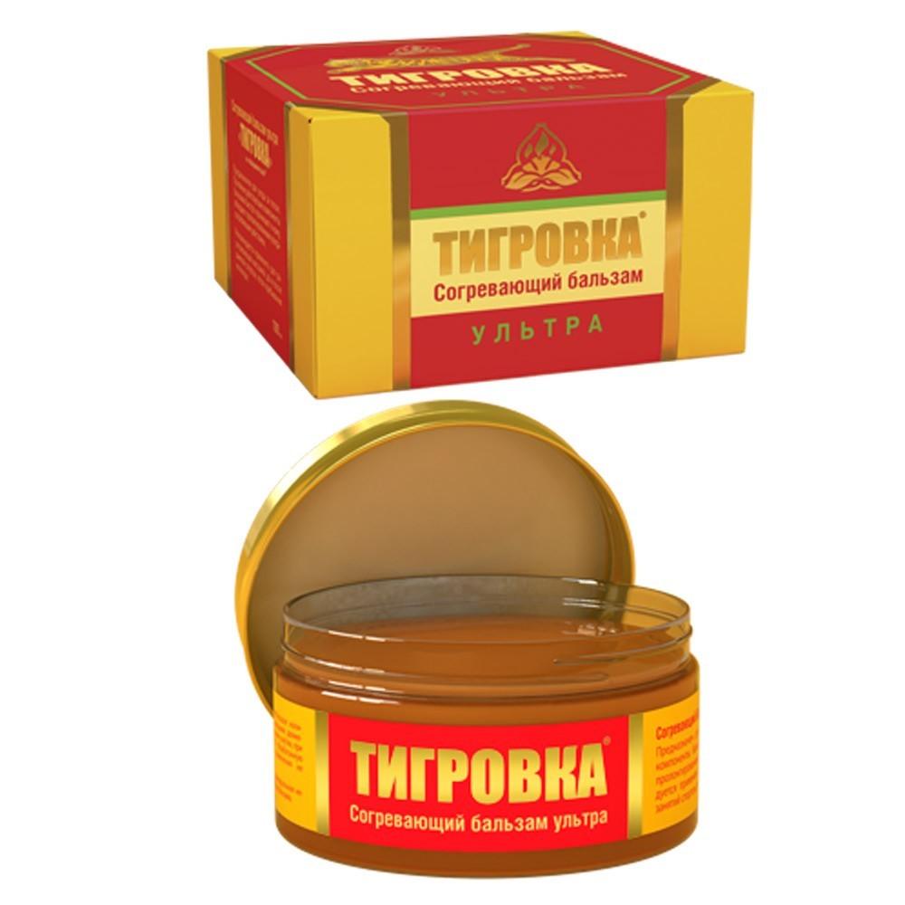 """Tigrovka"" Ultra Warming Body Balm, 3.38 oz/ 100 ml (Horse Force)"