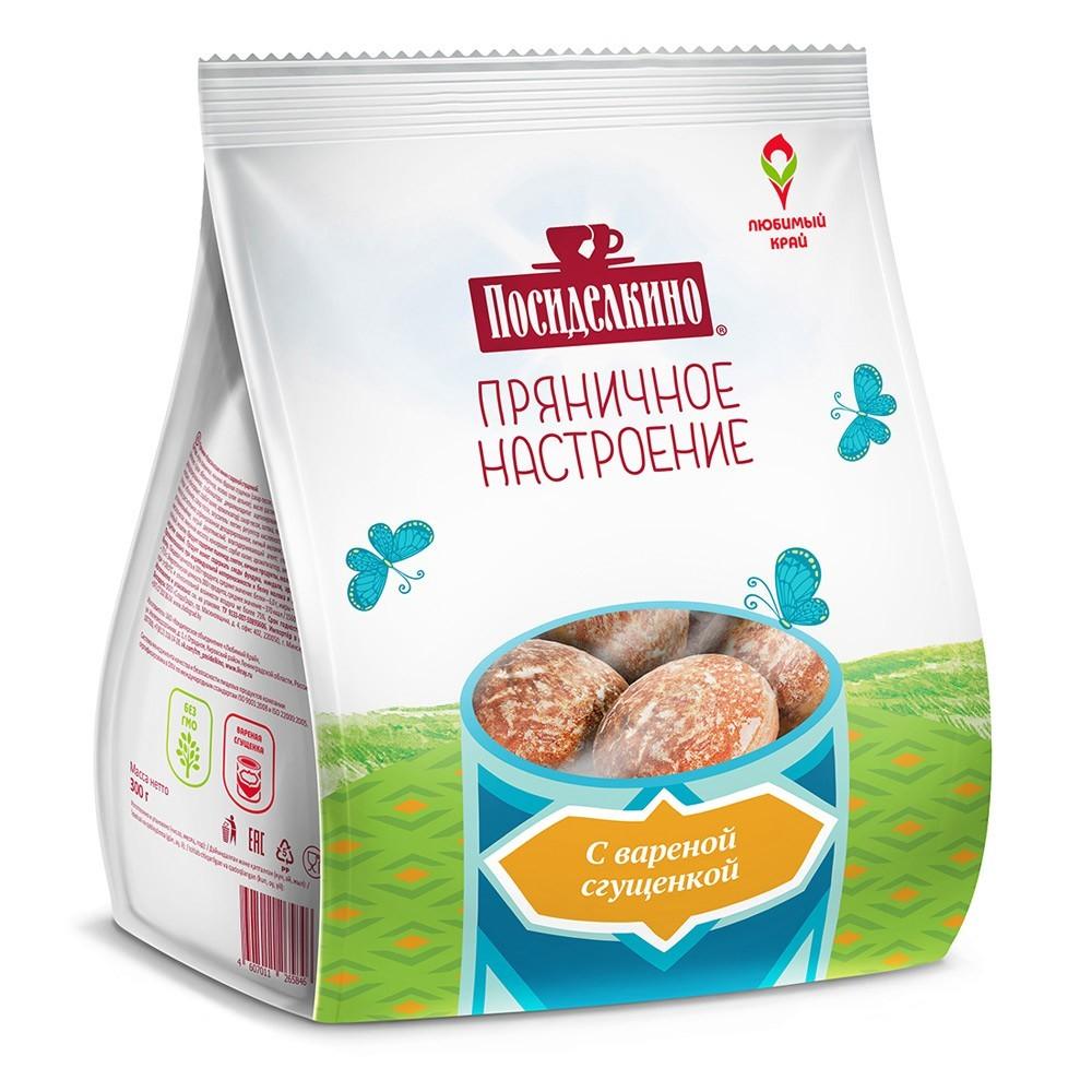 """Posidelkino"" Gingerbread w/ Condensed Milk, 10.58 oz/ 300 g"