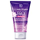 Bio-Program Deep Bio-Cleansing 5 in 1, Gel + Foam + Scrub + Peeling + Mask, 4.05 oz/ 120 ml (Black Pearl)