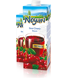 Natural Premium Armenian Noyan Sour Cherry Juice 34 FL OZ