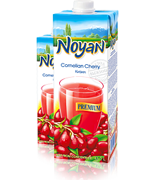 Natural Premium Armenian Noyan Cornelian Cherry Juice 34 FL OZ