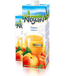 Natural Premium Armenian Noyan Peach Juice 34 FL OZ