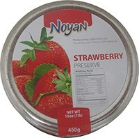 Natural Organic Noyan Armenian Strawberry Preserve 1 Lb