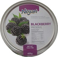 Natural Organic Noyan Armenian Blackberry Preserve 1 Lb