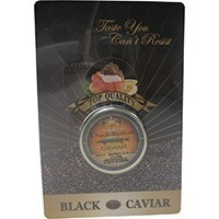 Black Caviar Paddlefish Malosol, glass jar 28 g
