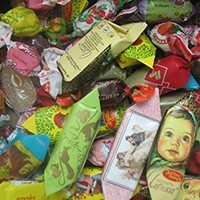 BACK in USSR! More than 50+ CHOCOLATE+50+CARAMEL MIX of the Most popular USSR Candy, 5.0 lbs