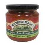 Adjika Spicy Pepper Salsa Vegan, 12oz (340g)