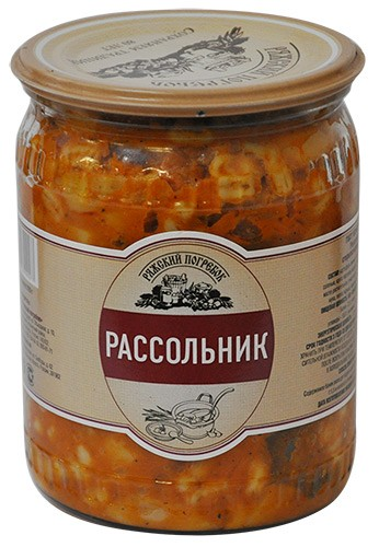 Rassolnik Soup with Mushrooms (Glass Jar), 18 oz510 g
