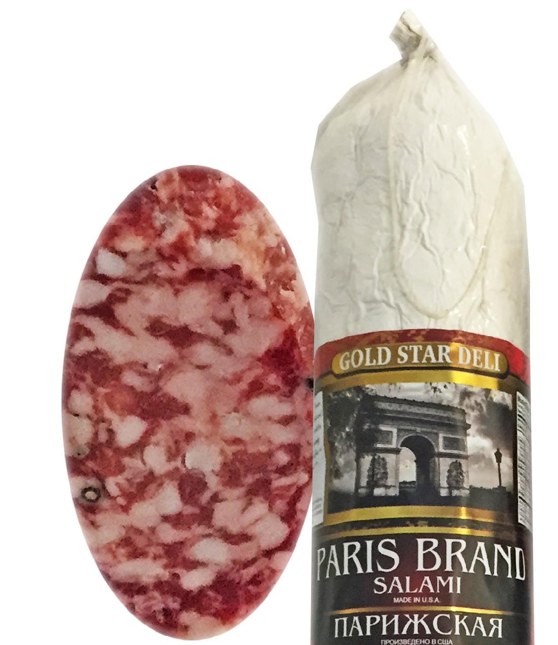 Paris Brand Salami Chunk, 0.9 lb/ 0.4 kg
