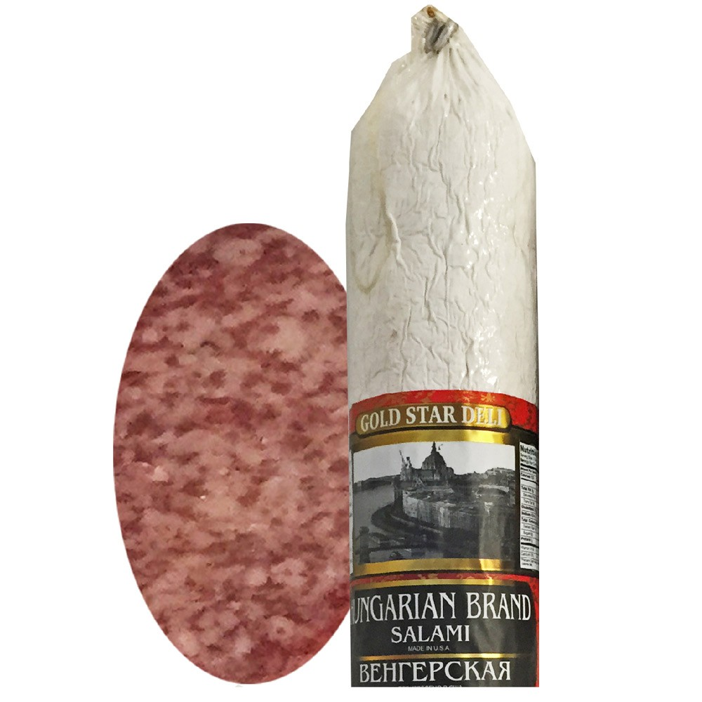 Hungarian Brand Salami Chunk, 0.9 lb/ 0.4 kg