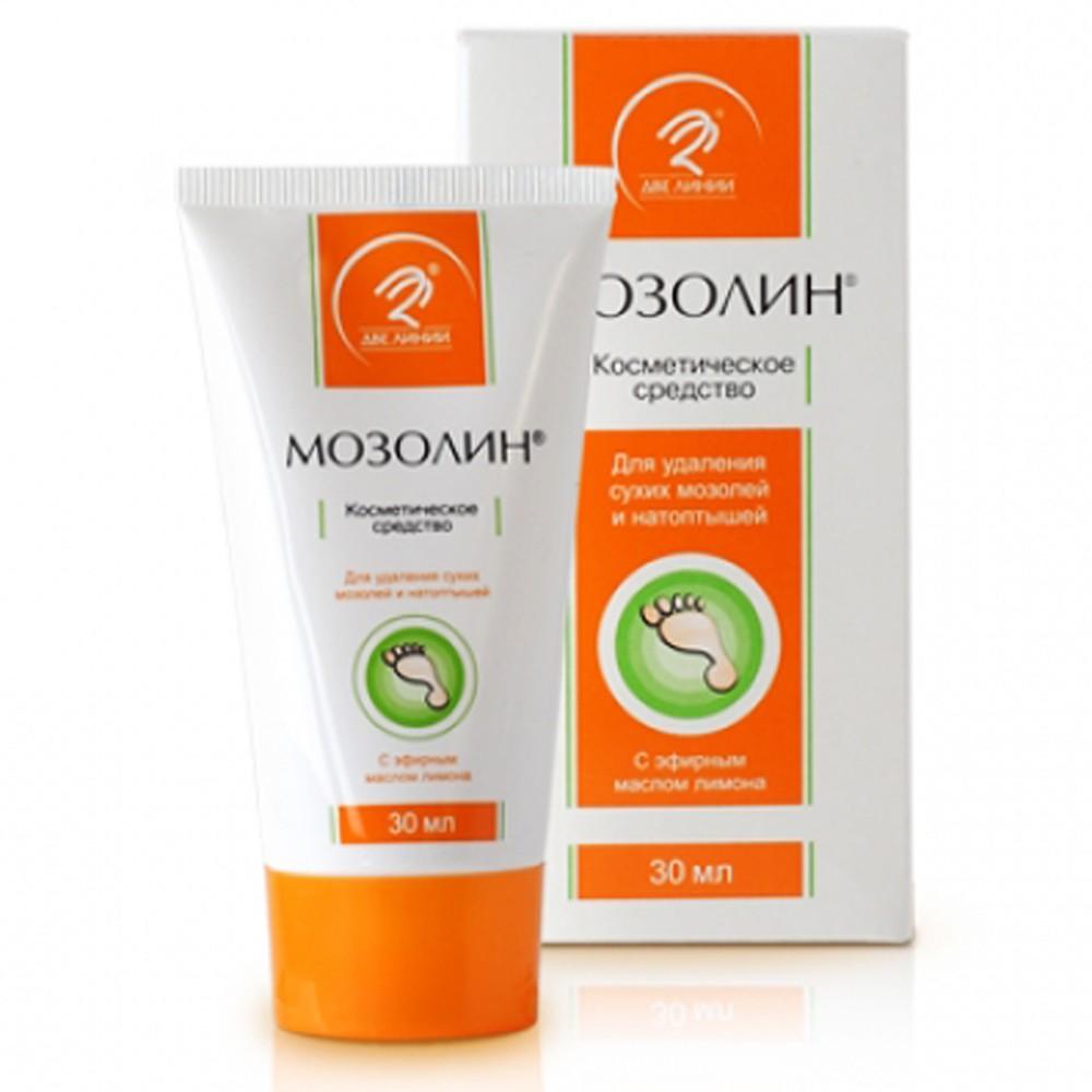 """""""Mozolin"""" Cosmetic Cream for Blister & Corns, 1 oz/ 30 ml"""