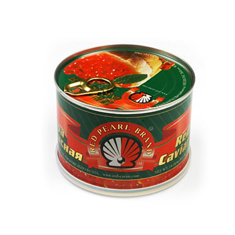 Red Pearl Salmon Red Caviar (Tin Can), 1 lb/ 454 g