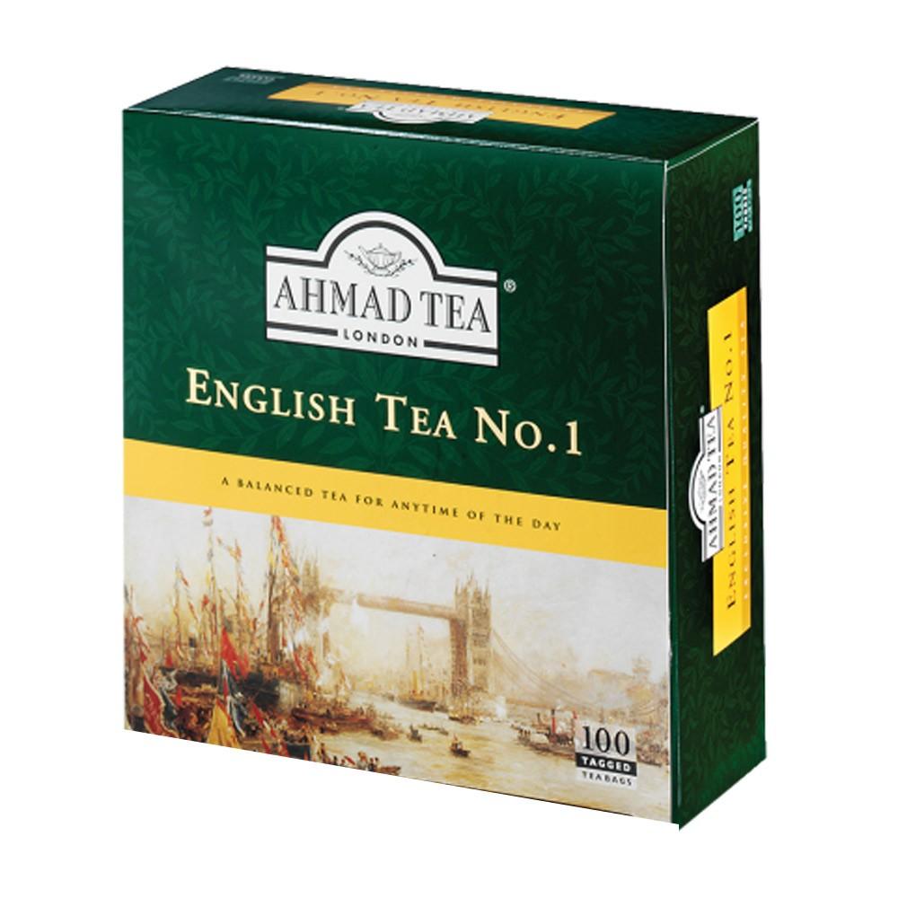 Ahmad English Tea #1, 100 Tea Bags