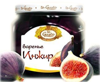 Figs preserve with whole berries 430 gr