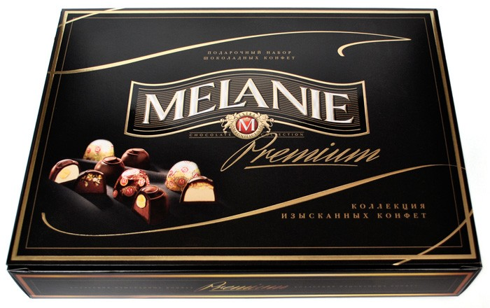 "Assorted chocolates ""Melanie Premium Black"" 848 g ***"