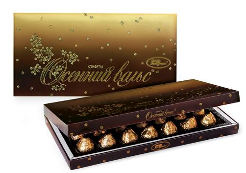 "Box of chocolate candies ""Autumn Waltz"" 320g"