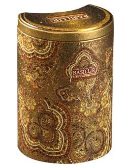 """Pure Ceylon Black Tea Pekoe  """"Golden Crescent"""" from Oriental Collection in the Metal Caddy 100g"""